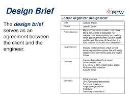 Engineering Design Process Worksheet High School Design Brief Design Brief Gateway To Technology Ppt Download
