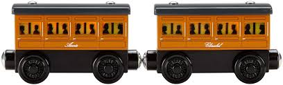 fisher thomas friends wooden railway light up reveal annie clarabel zoomed image