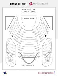 The Masonic Sf Seating Chart Seating Charts Playhouse Square