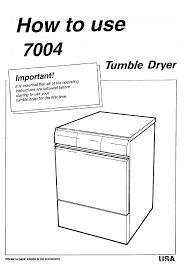 asko clothes dryer 7004 user guide manualsonline com next