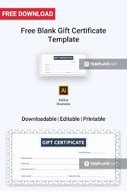 Gift Certificate Template Printable Free Printable Gift Certificates For Business Photography