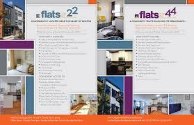 Apartment Brochure Design Simple Design