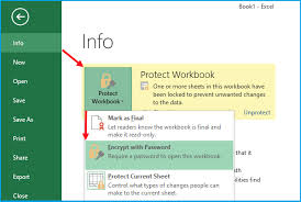 Encrypted Excel Files Set And Remove Password Protection From Excel File Worksheet