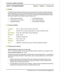 Best Resume Software Example It Resume It Resume Michael Knight Information Technology 37
