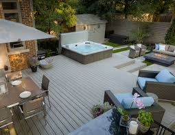 15 stunning hot tub landscaping ideas