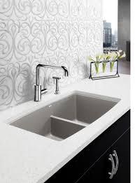 Blanco Granite Kitchen Sink Kitchen Blanco Kitchen Sinks With Blanco Zia 6s Bowl Anthracite