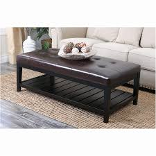cushioned coffee table. Decorating Endearing Cushioned Coffee Table 9 Inspirational Ottoman Beautiful Rectangular Cocktail Oversized Storage Of Appealing D