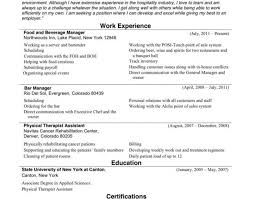 Nursing Resume Examples With Clinical Experience Sinma