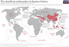 What Were The Worlds Deadliest Earthquakes Our World In Data