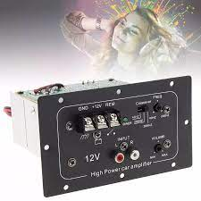 150W 12V Black Powerful Bass Subwoofer Car Audio High Power Amplifier Board  for 6 /8 /10 Inch Car Subwoofer|Stereo Amplifiers