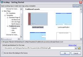 What Is Tamplate Using Map Templates Help Arcgis For Desktop