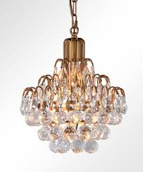 antique brass thayer teardrop crystal chandelier