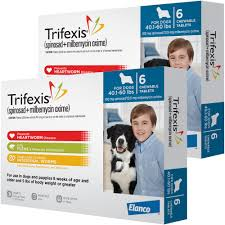 Trifexis For Dogs 40 1 60 Lbs 12 Chew Tabs