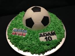 Football Birthday Cake Debbie Windsor Flickr