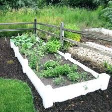 garden bed fence ideas raised garden bed fence ideas stylish vinyl beds fencing b raised garden