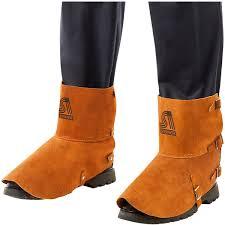 com steiner 12185 spats split cowhide leather shoe protector 5 h x 7 l home improvement