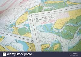 Southeast Alaska Nautical Charts Nautical Charts Stock Photos Nautical Charts Stock Images