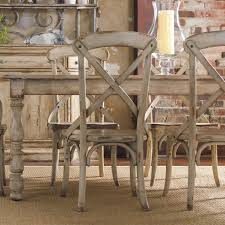 distressed dining table farmhouse table with metal legs world market round dining table