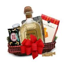 patron silver tequila gift basket