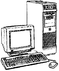 Реферат Устройство компьютера com Банк рефератов  Персональные компьютеры выпускаются в разных корпусах На рис 1 1 показан внешний вид настольного персонального компьютера