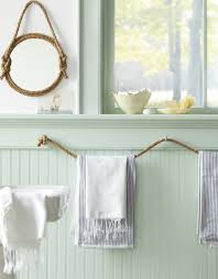 diy bathroom mirror decoration. view in gallery rope towel rack and mirror frame diy bathroom decoration r
