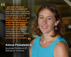 Unh Quote Fascinating Anissa Poleatewich Assistant Professor Of Biological Sciences UNH