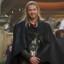 Chris Hemsworth Long Hair Thor