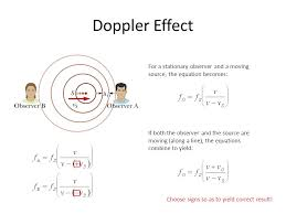 5 doppler effect for a stationary observer and a moving source the equation