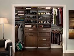 brown closet organizers for bedroom furniture idea