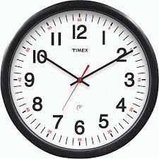 office wall clock. timex 1412 office wall clock f