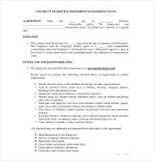 18 Contract Agreement Templates Free Sample Example Format Sample ...