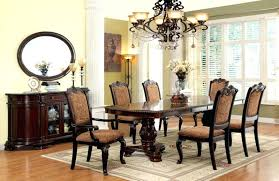 dining set with upholstered chairs formal dining room set with fabric upholstered chairs rustic dining table