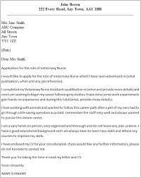 Best Photos Of Veterinary Assistant Cover Letter Sample In Cover