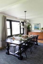 black table with modern light modern dining room mcm dining room modern dining