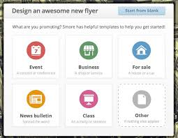 How To Make A Digital Flyer Librarians On The Fly Smore Make Online Flyers For Your