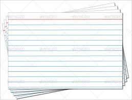Index Card Word Template 83 Card Templates Doc Excel Ppt Pdf Psd Ai Eps