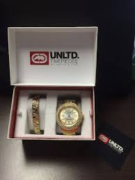 fathers day gifts clearance in bagley minnesota by auctions by mens marc ecko the king watch matching bracelet suggested retail price 250 00