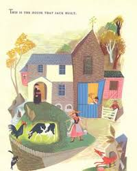 the house that jack built a page from a vine children s book ilrated by esme eve mother goose nursery rhymes berka
