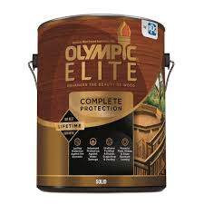 Olympic Elite 1 Gal Base 1 Solid Advanced Exterior Stain And Sealant In One
