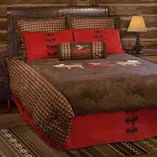 Sunland Home Decor Sunland Home Decor Jb 1642 Moose Plaid Lodge Full Queen