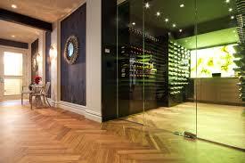 contemporary wine cellar wine storage portland oregon ...