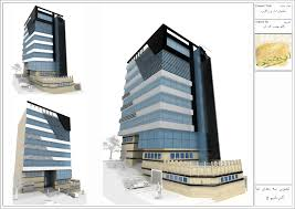 office block design. urban archecture new 5 story building project management of zagros five office block design k