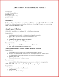Unique Administrative Assistant Resume Samples 2015 Npfg Online