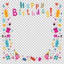 birthday greeting card happy birthday poster background shading happy birthday photo frame ilration png