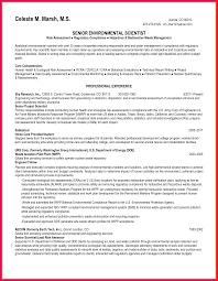 Sample Resume With Sabbatical Environmental Science Resume Sop Examples 5