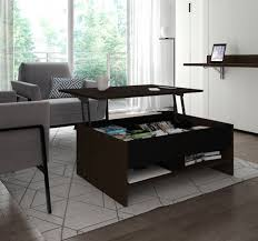 black 37 lift top storage coffee table