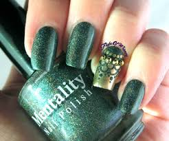 Peaceably Green Nail Art Designs Styletic Green Also G Nail Art ...
