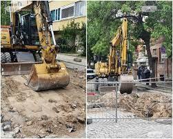 Екипи на вик дружеството ще работят до отстраняване на проблемите в двата града. Vik Avariya V Centra Na Plovdiv Trafficnews Bg Trafficnews Bg
