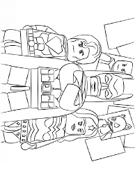 Choose your favorite coloring page and color it in bright colors. Lego Superman Coloring Pages Free Printable Ant Man Coloring Pages