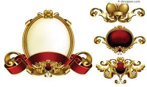 ornate gold frame border. Brilliant Ornate Ornate Texture Decorative Border Vector Material Throughout Gold Frame Border